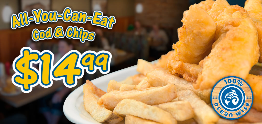 C-Lovers - Fish and Chips - All You Can Eat Every Day