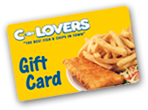 Get a C-Lovers Fish and Chips Gift Card Today!