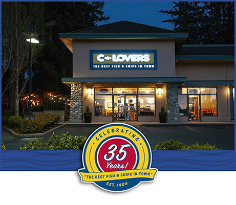 C-Lovers - Fish and Chips - Vancouver BC